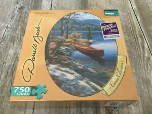 Buffalo Games Oval Cameo Collection Time Well Spent NEW Sealed Puzzle 750 Piece