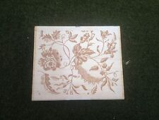 Flowers & Leaves Rubber Stamps