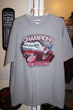 NEW RED WINGS 2008 CHAMPIONS SHIRT XL