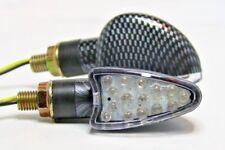 ► 2x LED mini intermitentes Spear carbon brevemente Benelli quatro 500,tnt 899/s,900 sei, adiva