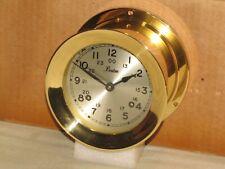 """Chelsea Ships Bell Clock~Boston Model~4 1/2"""" Dial~1977~Restored"""