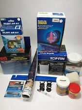 Aquarium Supplies Miscellaneous Equipment,  Food, Filters sold all together