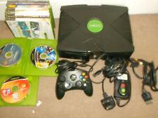Original Black Xbox Console Games Bundle