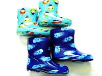 BABY BOYS (RAIN BOOTS ) WELLIES WITH COLOURFUL PICTURES
