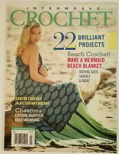 Interweave Crochet Brilliant Projects Bold Chevrons Summer 2016 FREE SHIPPING JB