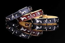 Motif Collar Dachshund Dachshund Dachshund Leather Collar Lead Dog