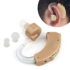 Behind The Ear Invisible Sound Amplifier Adjustable Tone Hearing Aids