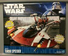 Star Wars CLONE WARS JEDI TURBO SPEEDER  new in box