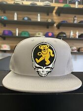 Custom -Grateful Dead Bear Vintage Patch Hat Embroidered. Old Patch UpCycle
