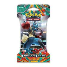 *Pokemon - Xy Furious Fists Sleeved Blister Pack x 5 - Rare - Factory Sealed*