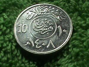 SAUDI ARABIA 10 Halala 1988 ( 1408 ) UNC