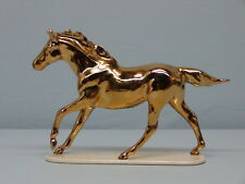 Limited Edition Hagen Renaker Feng Shui Golden Seabiscuitr Horse