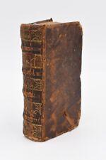 NUOVO TESTAMENTO Vulgata ed. Lione 1710 VANGELI Bibbia Biblia Apostoli Legatura