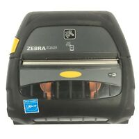USED Zebra ZQ520 Mobile Wireless Bluetooth POS Docket Receipt Printer 1115