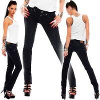Timezone Damen Jeans 16-5607 Tahila noble Hose Pants Stretch Röhre Freizeit