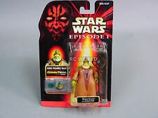 Vintage Star Wars CommTech Chip BOSS NASS with Gungan Staff Action Figure  #z3a