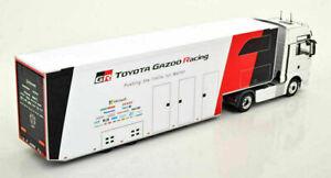 IXO MODELS TTR020 CAMION MAN TGX XXL D38 Toyota Gazoo Racing 2019  1/43