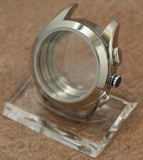 Watch Case for ETA Valjoux 7750 / 7753 Chronograph Sapphire 38mm 10 ATM Boitier
