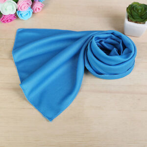 Chilly Pad Cooling Sports Towel Ice Cold Enduring Running Jogging Candy Color