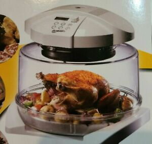 NEW Thane FlavorWave Oven Deluxe Flavor Wave Infrared Convection Conduction BOX