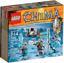 LEGO LEGENDS OF CHIMA SABER TOOTH TIGER TRIBE PACK (70232) NEW IN BOX/SEALED
