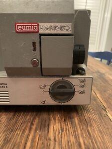 Eumig Mark 501 Super8-Single8-Standard8, Vintage Cine Movie Film Projector
