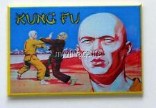 "KUNG FU  side A Metal LUNCHBOX   2"" x 3"" Fridge MAGNET ART"
