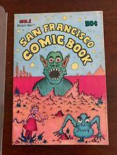 San Francisco Comic Book NO. 1 VG 1st Printing Crumb Hayes Osborne Underground