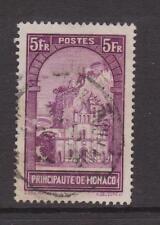MONACO-SG 140-G/U - 1933/9 - 5 F-Chiesa di St. dedicare