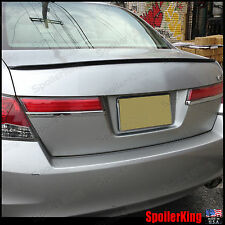 Rear Trunk Spoiler Wing (Fits: Honda Accord 2008-12 4dr) SpoilerKing