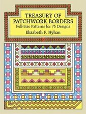 Treasury of Patchwork Borders: Full-Size Patterns