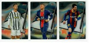 2020-21 Topps Finest UEFA Champions League Soccer Base & RC'S #1-100 You Choose