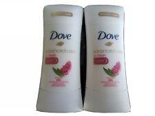 2 X Dove Advanced Care Anti-Perspirant Deodorant, Revive  Go Fresh 2.6 EXP 01/21