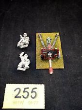 Warhammer 40K Praetorian Guard Lascannon (painted) and crew unpainted Rare OOP