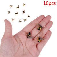 10 Bionic honeybee fliegenfischen köder Künstliche Insekten Köder Angelköder JXJ