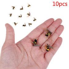 12 Stücke Haken Bionic Bait Bee Ant Fly Forelle Angelköder Insekt Kurbel