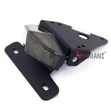 For Honda XR 250R/400R Fender Eliminator License Plate Holder LED Brake Light