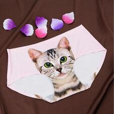 3D Cat Women Underwear Lady Brief Panty Anti - exposure Pants Lovely Girl