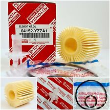 GENUINE LEXUS IS300H OIL FILTER OEM 04152-YZZA1 & 04152-31090 RM 1ST CLASS POST