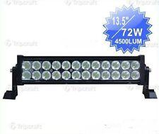 12V / 24 BARRA LED 72 W LED CREE DISS.IN ALLUMINIO FUORISTRADA LAVORO  ALTA RESA