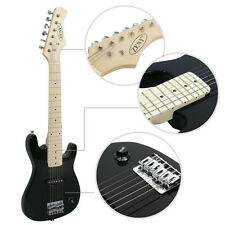 30 Inch Beginner Electric Guitar Package Kit with Amp Accessories Zeny Black