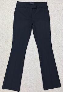 Women's WHBM Black Bi-Stretch The Skinny Boot - Bootcut Dress Pants - NEW Size 2