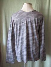 "Mens Marc Ecko Cut & Sew Lt Gray LS Camo Camouflage T-Shirt NWT $54.50 L 37"" SL"
