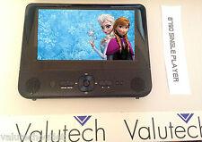 "Bush 8790B 7"" Single Multi region DVD Player in car kit headrest kit USB SD (B)"