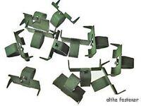 100 pcs 86 87 88 Pontiac Fiero engine splash shield clips rivets 1986 1987 1988