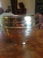 French Art Deco Decorative solid brass vases-'2 Villedieu'