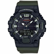 Casio Analog/Digital Watch, World Time, Chrono, 3 Alarms, Telememo, HDC700-3AV