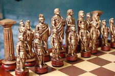 Roman Chess Set, Customisable Colours (Pieces Only/no board)