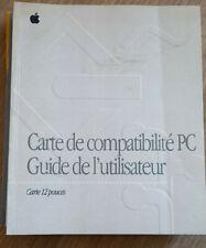 MANUEL INFORMATIQUE APPLE CARTE COMPATIBILITE PC GUIDE UTILISATEUR MACINTOSH
