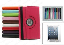 360 ° Rotating iPad MINI SMART PU Housse en cuir + protecteur + Stylet